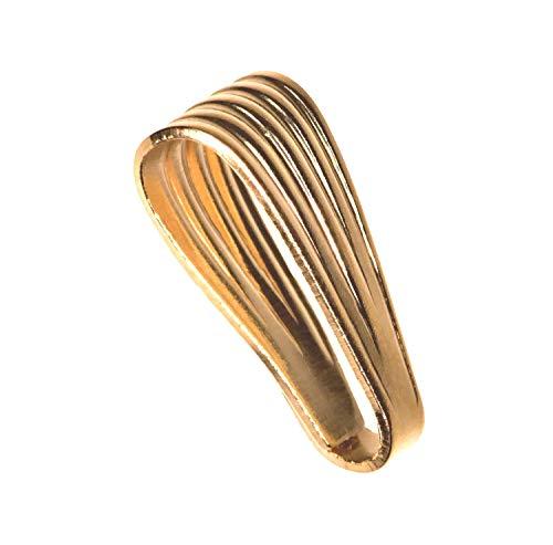 14K Gold Snap Bail 10mm x 4mm ()