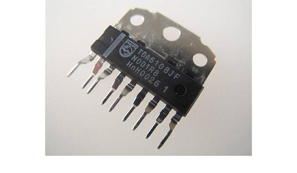 TDA6108JF Philips Triple salida de vídeo Amplificador 9 pin SIL el ...