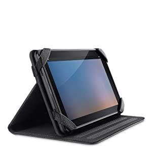 Belkin - Verve Folio - Étui avec support pour Kindle Fire - Noir/rouge (est compatible avec Kindle Fire uniquement)