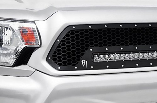 BLK LUXURY MESH FRONT HOOD BUMPER GRILL GRILLE GUARD ABS 2005-2007 DODGE MAGNUM