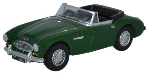 Promotional Oxfords - Oxford Diecast 76AH3004 Austin Healey 3000 British Racing Green 1:76 Scale Diecast Model