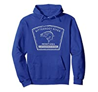 Bitterroot River Fly Fishing HOODIE
