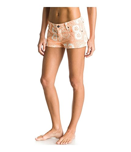 ROXY - Roxy Women's Shorts - Forever Print - Melon - Waist 26 (Roxy Tag)