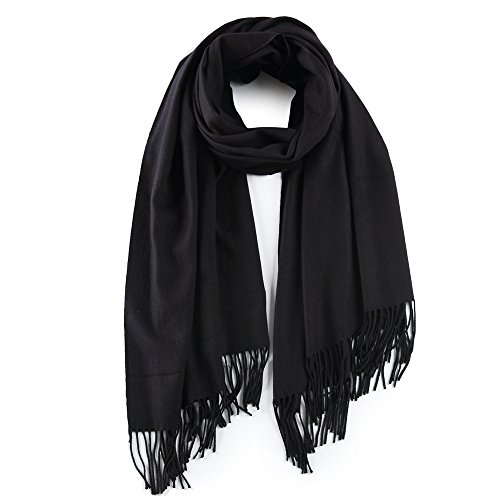 Cashmere Shawl Scarf/Poncho for Women, Light Wrap Stole and
