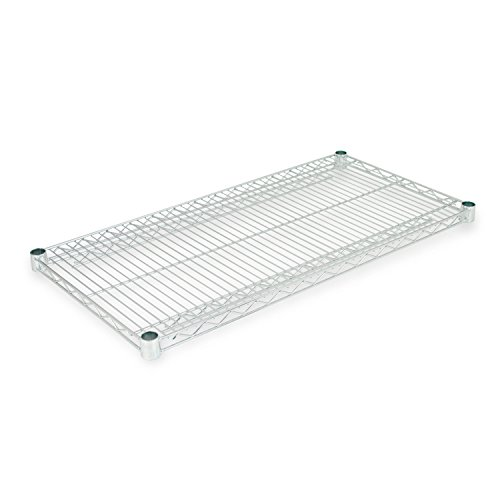 Alera SW583618SR  Industrial Extra Wire Shelves, 36 x 18, Silver (Case of 2)