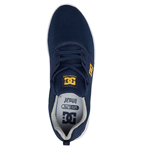Navy DC M Heathrow Bleu Uomo Sneakers Gold Shoes nqYRpqw8T