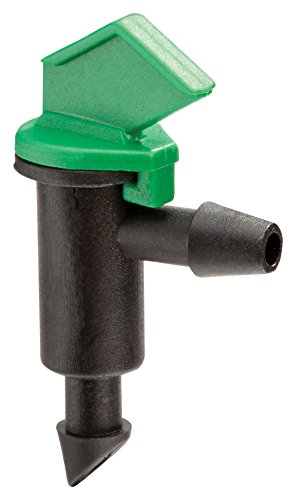 Drip Water (Rain Bird FE40-25S Drip Irrigation 4 Gallon Per Hour Flag Dripper/Emitter, 25-Pack)