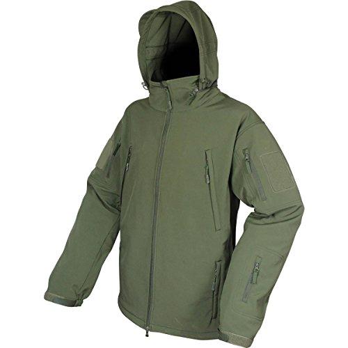 Impermeable Estilo Cortavientos Chaqueta Con Viper Militar Verde Capucha OXBwTP