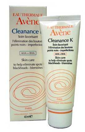avene cleanance k cream gel