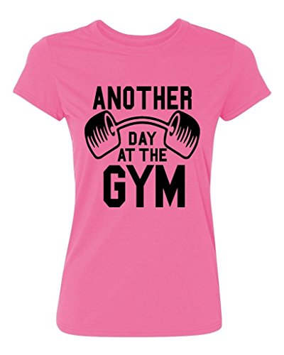 P&B Women's T-shirt Another Day At The Gym Black Text
