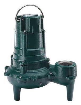 Submersible Sewage Pump, 1HP, 115V