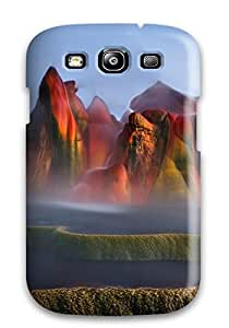 Snap-on Case Designed For Galaxy S3- Geyser