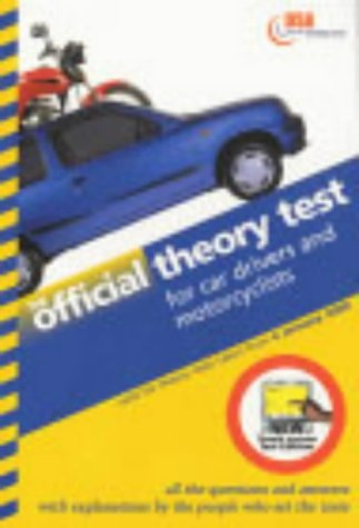 Official Theory Test for Car Drivers and Motorcyclists: Valid for Tests Taken from 4 January 2000 - Touch Screen Test Edition (Driving Skills)