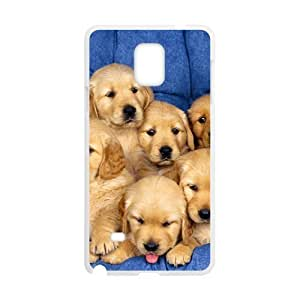 Cute Baby Dogs White Phone For LG G2 Case Cover
