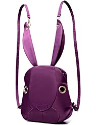 Rabbit backpack 2016 new Korean sweet lady shoulder bag with disabilities Street