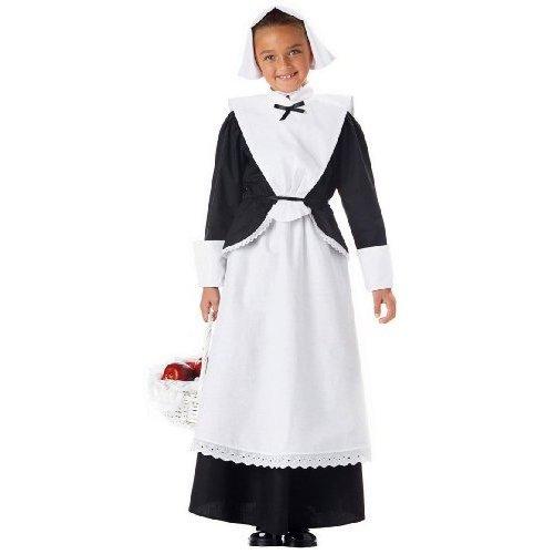 [Pilgrim Girl Child Costume (Extra Small)] (Baby Pilgrim Costumes)