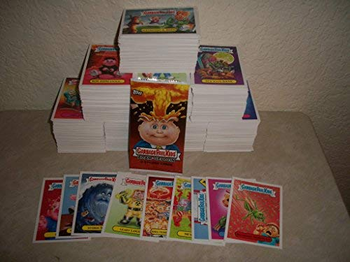 2017 GARBAGE PAIL KIDS SERIES 1 ADAM-GEDDON LOT OF THIRTY DIFFERENT STICKERS + 2 CEREAL KILLER STICKERS.