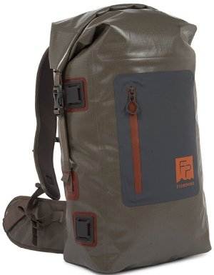 Fishpond Wind River Roll-Top Backpack - Gravel