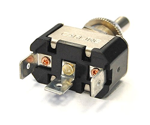 Blue Sea Systems WeatherDeck (ON)-OFF-(ON) Toggle SPDT Switch