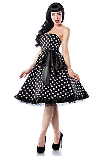 Chic Star - Vestido - para mujer schwarz (Sw 16)