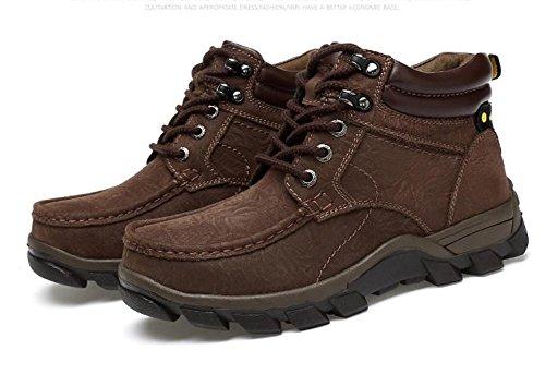 Botas de cordones originales para hombres con botas de desierto y cachemira al aire libre 46