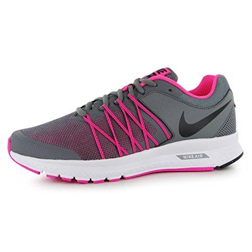 Nike Air Relentless 6Zapatillas de running para mujer, color gris/negro/rosa Run zapatillas zapatillas, Grey/Black/Pink, (UK5) (EU38.5) (US7.5)