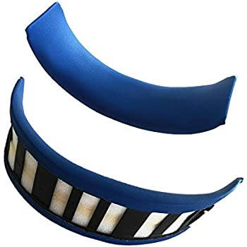 Replacement Headband Cushions Pad for Sony PS3 PS4 Gold Wireless Playstation 3 Playstation 4 CECHYA-0083 Stereo 7.1 Virtual Surround Headphones Head Band (Not Suitable for Others)