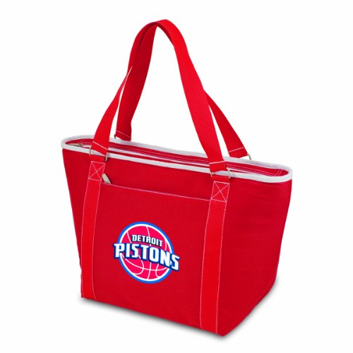 PICNIC TIME NBA Detroit Pistons Topanga Insulated Cooler Tote, Red by PICNIC TIME