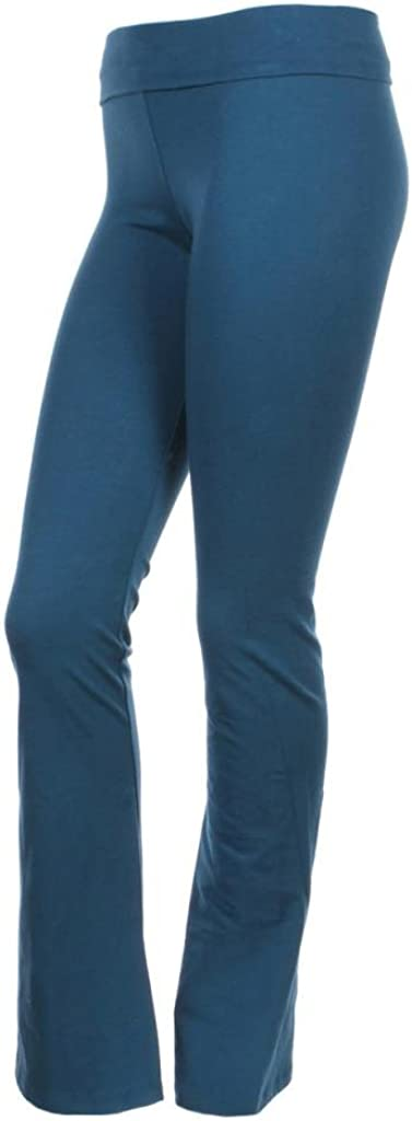 T Party Fold Over Waist Yoga Pants