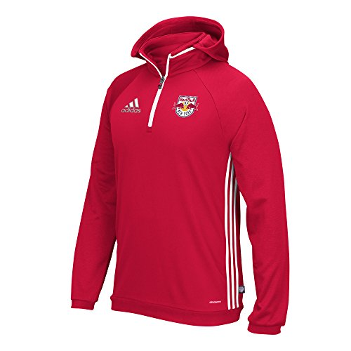 MLS New York Red Bulls Adult Men On-Field Hooded - Field Sweatshirt Mens