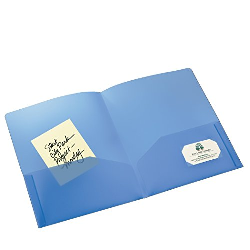 AVE47811 - Avery Translucent Two-Pocket Folder