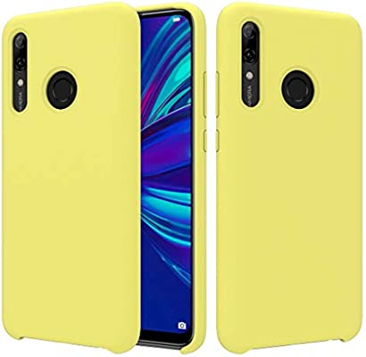 CoverTpu Funda Huawei P Smart Plus 2019 Silicona, Amarillo Funda ...
