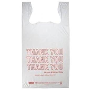 Prime plásticos pequeño camiseta HDPE gracias plástico ...