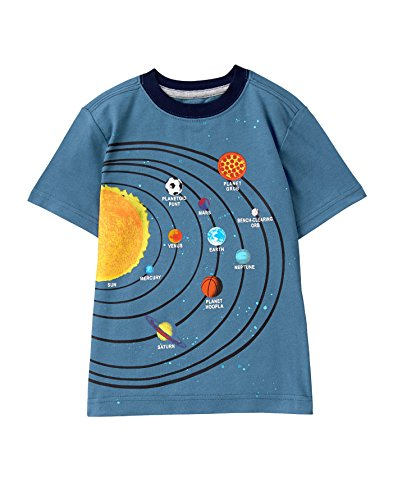 Gymboree Boys' Little Screen Tee, Feeling Blue XS from Gymboree