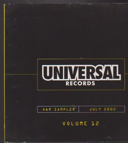 Universal Records A & R CD Sampler July 2002 Rock Urbane Crossover Top ()