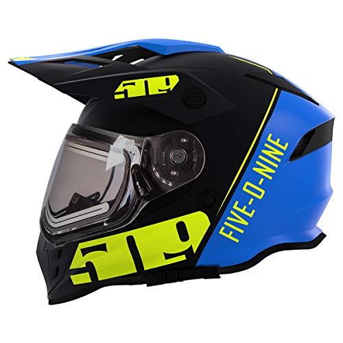 509 Delta R3 2.0 Full Face Snow Helmet with Fidlock (Hi-Vis Blue - 2X-Large)