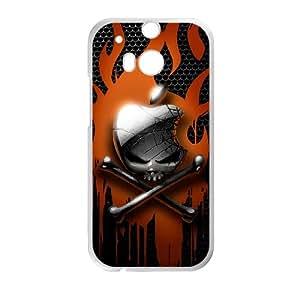 Custom Case Skull For HTC One M8 Q9V142209