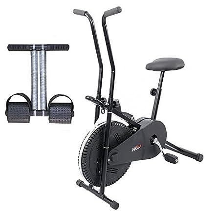 Lifeline LEC102TTDS Exercise Bike and Tummy Trimmer (Black)