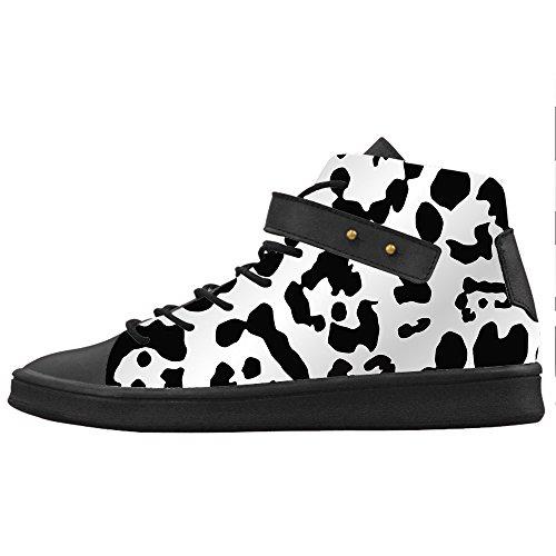 Custom Stampa leopardo Womens Canvas shoes Le scarpe le scarpe le scarpe.