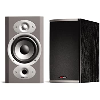 Polk Audio RTi4 High Performance Bookshelf On Wall Speakers Pair Black