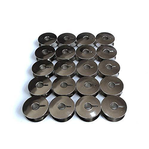 20 Metal Bobbins Fits Pfaff 130, 230, 260, 262, 332, 360, 362#9033S