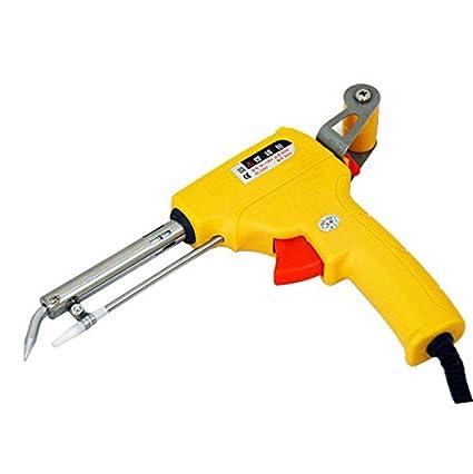 Pistola De Soldar Eléctrica, BOFEISI 60W Estaño Soldador Kit Mano Enviar Automáticamente Lata Industrial Herramientas