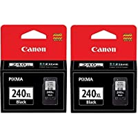 Genuine Canon PG-240XL (5206B001) Black Ink Cartridge 2-Pack by Canon