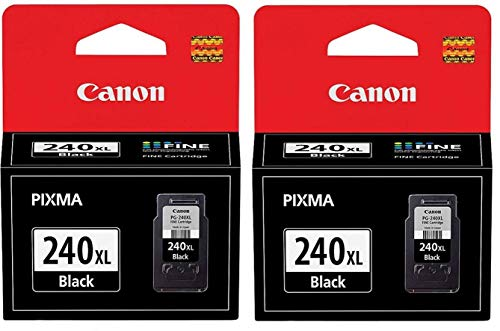 Genuine Canon PG-240XL (5206B001) Black Ink Cartridge 2-Pack by Canon (Mx439 Ink)