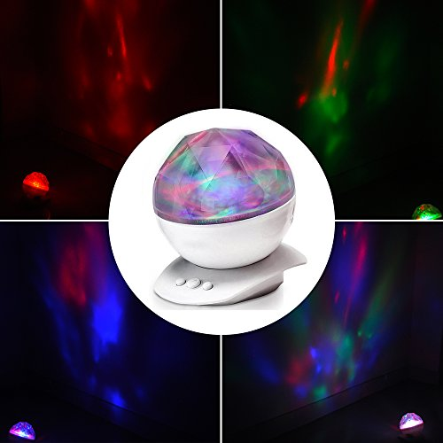 Night Lights Aurora Projection Color Changing Sleep