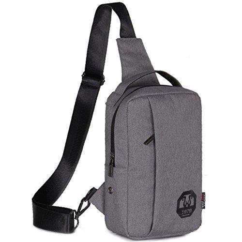 Bolso de pecho de los hombres/bolso de hombro inclinado/Paquete deportivo/[mochila]/Bumbag/bolso de bandolera-B B