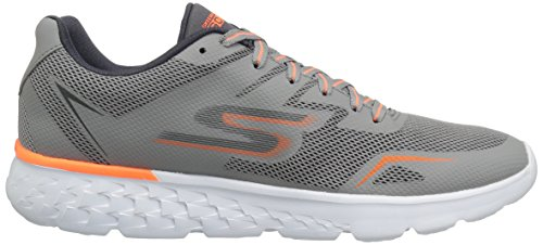 Skechers Go Run 400, Scarpe Sportive Outdoor Uomo Gray/Orange