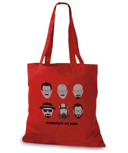 StyloBags Jutebeutel / Tasche Remember my Name Rot