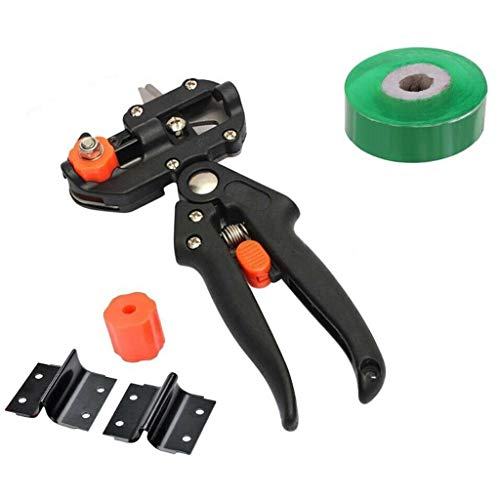 CMrtew Garden Tools Grafting Pruner Chopper Vaccination Cutting Tree Plant Shears Scissor and Graft Film Tape Dropshipping
