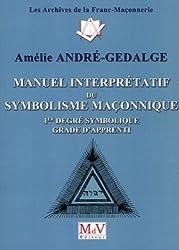 Manuel interprétatif du symbolisme maçonnique : 1er degré symbolique le grade